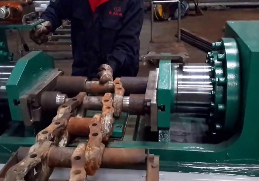 О ремонте гусениц экскаватора